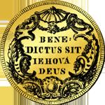 1772 Gold Münze Dukaten Zehnfacher
