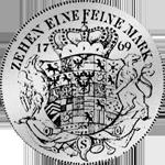 Rückseite Silbermünze Brandenburger Konventions Spezies Taler 1769