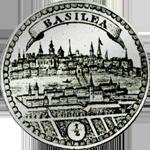 Halber Taler Basel Silber Münze