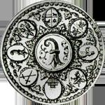 Basel Münze Silber Halber Taler
