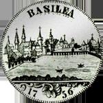 1765 Silber Münze Taler Basel