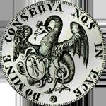 1756 Silber Taler Basel Münze