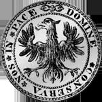 Taler Silber Münze 1640 Basel