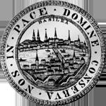 Doppeltaler Silber Münze Basel Rückseite
