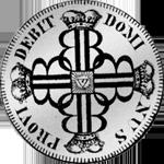 Bern Silber Münze ein Frank 10 Batzen 1797