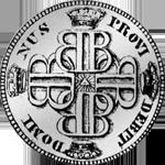 1758 Silber Münze 1 Frank 10 Batzen Bern