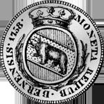 Silber Batzen Frank 1 10 Silber Münze Bern