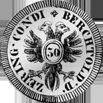 Gulden Halber Münze Silber 1658 Bern