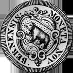 Bern 1658 Halber Gulden Silber Münze