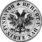 Bern Dicken 1620 Silber Münze