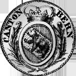 1810 Münze Silber 1/2 Frank 5 Batzen