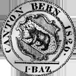 1826 Silber Münze ein Batzen Bern