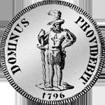 1796 Halber Neutaler Silber Münze Bern