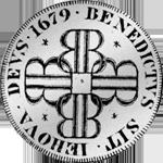 1679 Münze Bern Silber Halber Taler