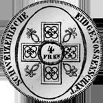 1826 Batzen Neutaler 40 Silber Münze Bern
