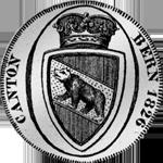 1826 Batzen Neutaler Silber Münze Bern