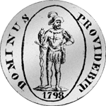 Neutaler Silber Münze 1798 Bern