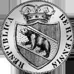 1818 Silber Münze Gedenkmünze Bern