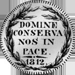 1812 Zürich Frank 10 Batzen Silber Münze