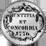 Schilling 20 Zürich 1776 1/2 Gulden Münze Silber
