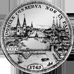 1761 Münze Silber Taler 1761