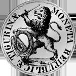 Rückseite Zürich Silber Münze Taler 1761