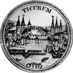 1761 Silber Münze 1/2 Taler 20 Schilling Nürnberg