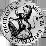Schilling Silber Münze 1/2 Taler 40 Schilling 1761