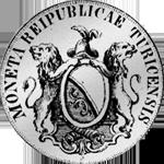 1780 Silber Münze 1/2 Taler 40 Schilling Zürich