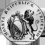 Zürich Taler Silber Münze 1776