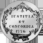 1776 Taler Silber Münze Zürich