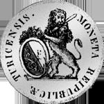 Münze Zürich Silber Taler 1773