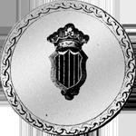 1809 Silber Münze 5 Pesetas proviciales Piaster Peso Spanien