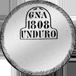 1808 20 Realles de Vellon Piaster Fuerte Peso duro Silber Münze Spanien