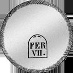 Spanien Silber Münze 1808 Peso duro Piaster Fuerte 20 Realles de Vellon