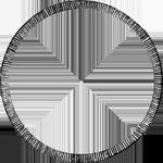 Piaster 1/2 Peso Silber Münze 10 Reales de Vellon 1821