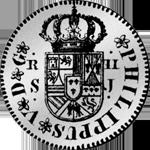 Reales de Vellon Pesetas 1/4 Piaster 1721 Silber Münze 4