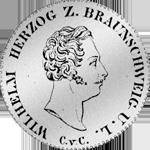 Reichs Taler 1842 Silber Münze