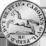 1/6 Reichs Taler Silber Münze Rückseite 1808