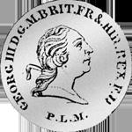 1/6 Reichs Taler Silber Münze 1799