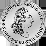 2/3 Reichs Taler Münze Silber 1801