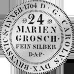 Münze Silber 2/3 Reichs Taler 1764