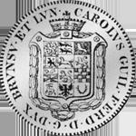 Rückseite Silber Münze Spezies Taler Konventions 1805