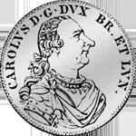 2/3 Reichs Münze Silber 1765