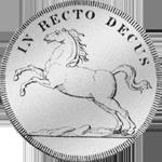 Silber Münze Spezies Taler 1711