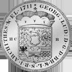 Münze Spezies Taler Silber 1711