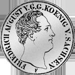 Reichs Münze Taler Silber Kurant 1850