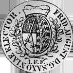 Reichs Kurant Taler Silber Münze 1764 1/12 Rückseite