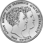 Münze Silber Konstitiutions Taler 1831