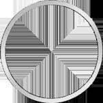 Umrandung Konventions Spezies Taler Silber Münze 1827
